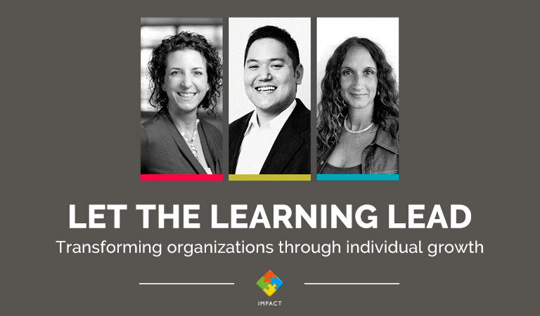 Let the Learning Lead