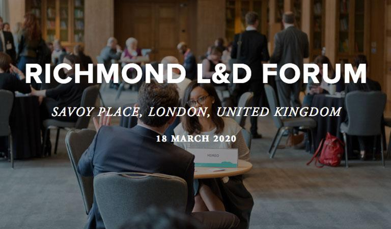 We are attending Richmond L&D Forum