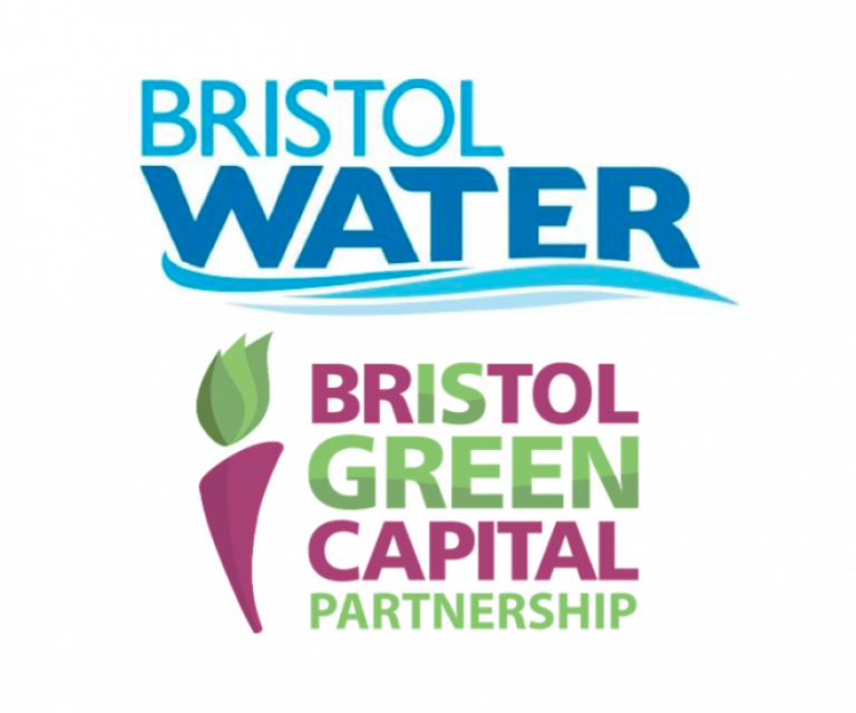 Bristol Water and Bristol Green Partnership logos