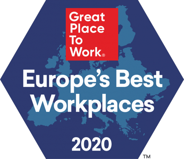 Europe's Best Workplaces 2020