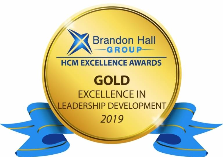 Gold award for Best Advance in Leadership Development