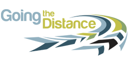 going the distance logo