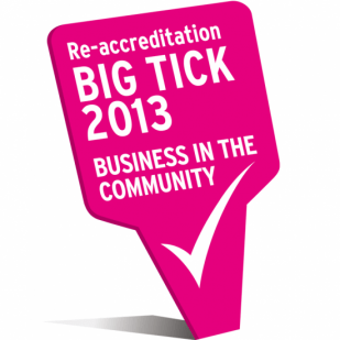 big tick award logo