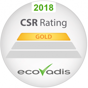 CSR rating Ecovadis Impact