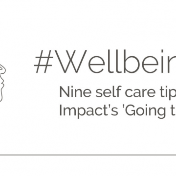 Wellbeing Wisdom - nine steps of self care